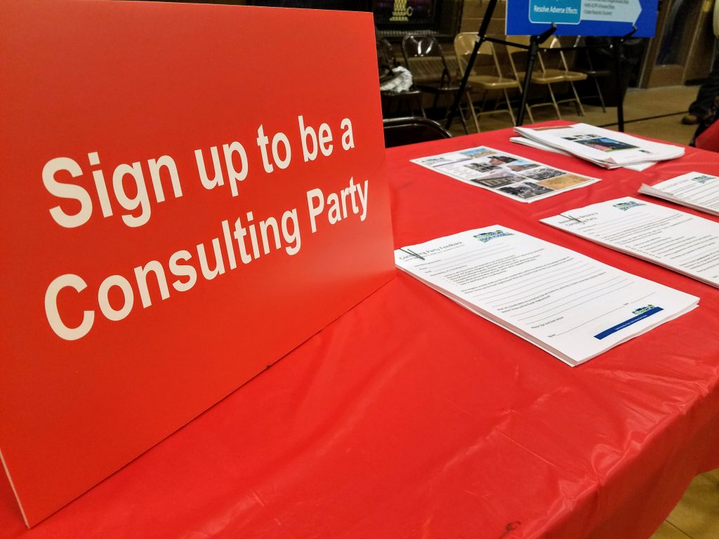 Become a Consulting Party